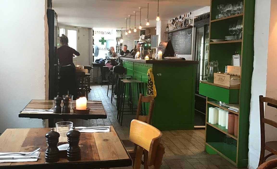 Antidote wine bar Copenhagen